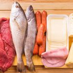 Fish, meat, cheese are rich in l-arginine, an ingredient of GenF20.